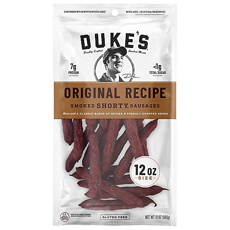 Dukes Original Shorty Sausage Master Case - 12 Oz