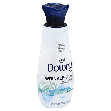 Downy WrinkleGuard Fabric Conditioner Unscented - 25 Fl. Oz.