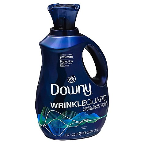 Downy WrinkleGuard Fabric Softener and Conditioner Liquid Fresh - 64 Fl. Oz.