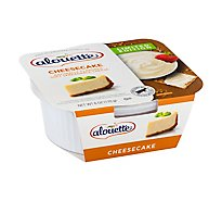 Alouette Cheese Soft Spreadable Vanilla Bean Cheesecake - 6 Oz