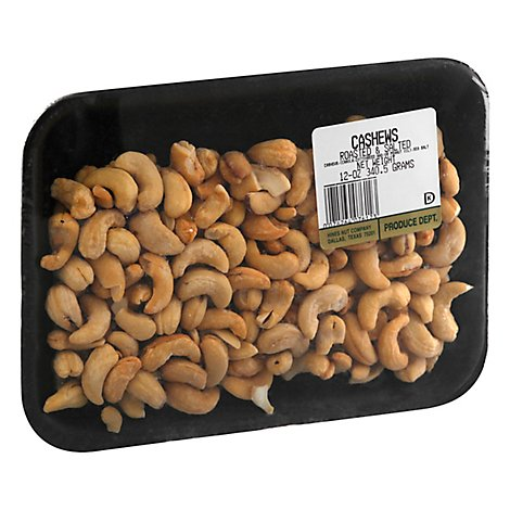 Hines Nut Company Cashews Roasted & Salted - 12 Oz