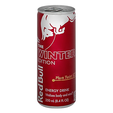 Red Bull The Winter Edition Energy Drink Plum Twist - 8.4 Fl. Oz.