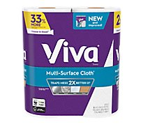 Viva Multi-Surface Cloth Big Roll Cas 2-Pack 83 Fsc Mix Sgsna-Coc-005460 - 2 Roll