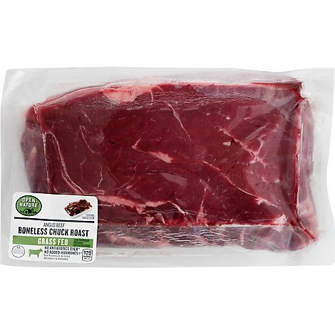 Open Nature Beef Chuck Roast Boneless - 2.25 Lbs