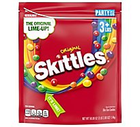 Skittles Candy Original Party Size - 50 Oz