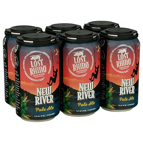 Lost Rhino New River Pale Ale In Bottles - 6-12 Fl. Oz.