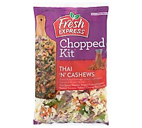 Fresh Express Thai N Cashew Chopped Salad Kit - 11.7 Oz