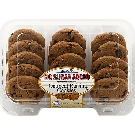 Ann Maries Sugar Free Oatmeal Raisin Cookies - 12 Oz.