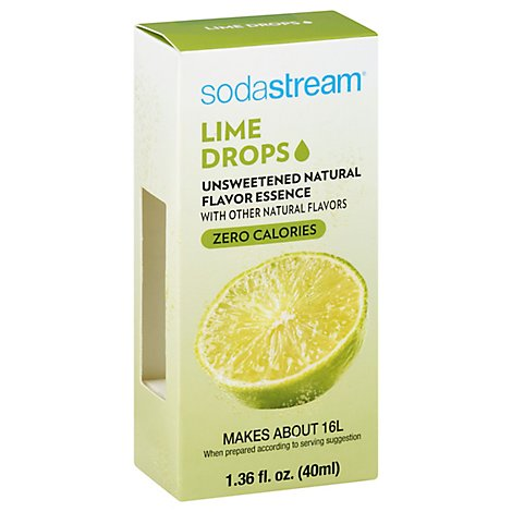 SodaStream Fruit Drops Lime - 1.36 Fl. Oz.