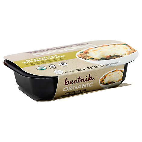 Beetnik Organic Shepherds Pie With Grass Fed Beef - 11 Oz