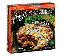 Amys Bowls Organic Mexican Casserole Light In Sodium - 9.5 Oz
