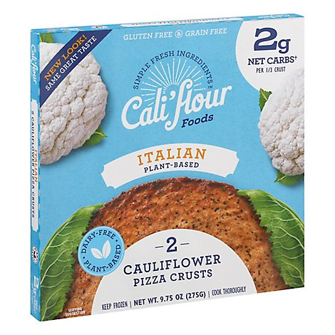 Califlour Foods Plant Based Italy Pizza Crust - 10 Oz