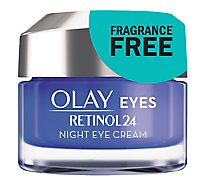 Olay Eyes Retinol24 Night Eye Cream - 0.5 Oz