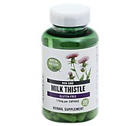 Open Nature Supplement Milk Thistle 175 Mg - 100 Count
