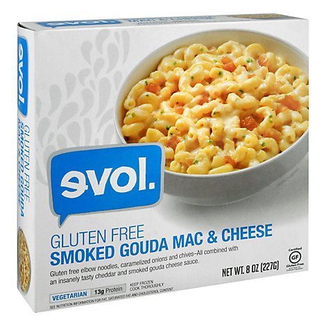 Evol Mac & Cheese Gluten Free Smoked Gouda - 8 Oz