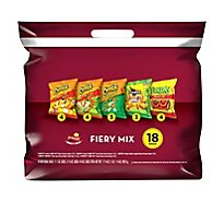 Frito Lay Snacks Fiery Mix Variety Pack 17.375 Oz - 18 Count