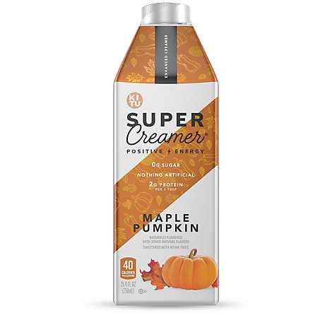 Kitu Super Creamer Maple Pumpkin - 6-25.4  Fl. Oz.