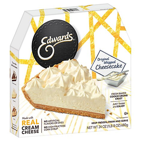 Edwards Cheesecake Original Whipped - 24 Oz
