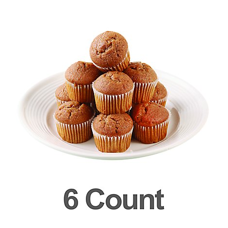 Muffins Ginger Bread 6 Count