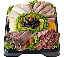 Deli Catering Tray Classic Meat & Cheese 16 Inch Square Tray 20-24 Servings - Each (Please allow 24 hours for delivery or pickup)