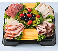 Deli Catering Tray Classic Meat & Cheese 12 Inch
