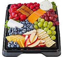 Deli Catering Tray Fruit & Cheese 16 Inch Square Tray 24-30 Servings - Each (Please allow 24 hours for delivery or pickup)