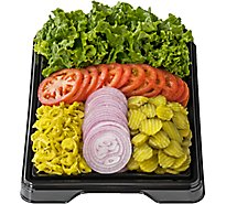 Deli Catering Tray Condiments 16-20 Servings - Each (Please allow 24 hours for delivery or pickup)