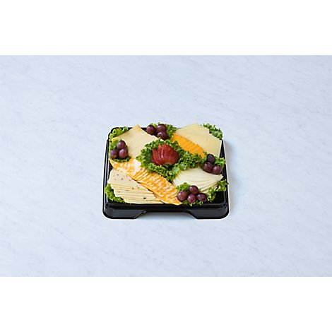 Deli Catering Tray Sliced Cheese 12 Inch