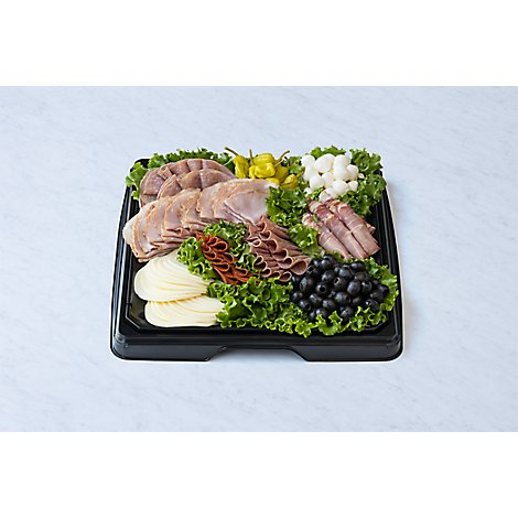 Deli Catering Tray Italian Meat & Cheese 16 Inch