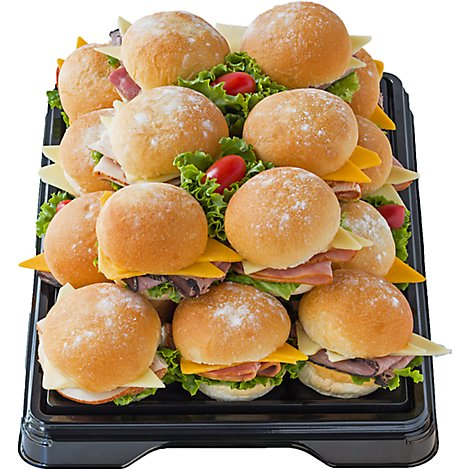 Deli Catering Tray Party Roll 8-12 Servings - Each (Please allow 24 hours for delivery or pickup)