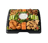 Deli Catering Tray Wing Fling 16 Inch