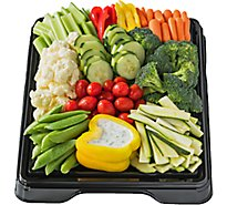 Deli Catering Tray Vegetable 16 Inch Square Tray 20-24 Servings - Each (Please allow 24 hours for delivery or pickup)