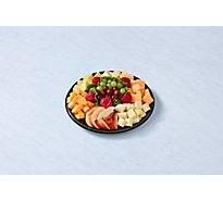 Deli Catering Tray Nibbler Fruit & Cheese 12 Inch