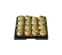 Deli Catering Tray Sandwich Club Salad 18 Inch