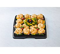 Deli Catering Tray Sandwich Croissant 18 Inch - Each