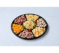 Deli Catering Tray Nibbler Meat & Cheese 18 Inch