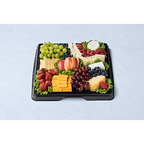Deli Catering Tray Fruit And Cheese 16 Inch
