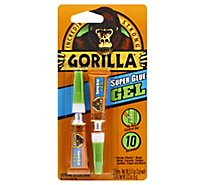 Gorilla Super Glue Gel - 2-0.11 Oz