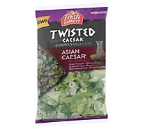Fresh Express Asian Caesar Chopped Salad Kit - 9.6 Oz