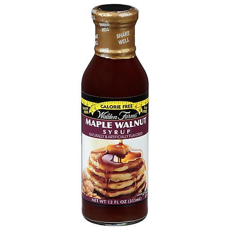 Walden Farms Syrup Calorie Free Maple Walnut - 12 Fl. Oz.