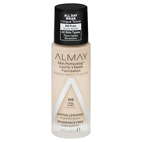 Almay Skin Perfecting Foundation Comfort Matte Cool Ivory - 10 Fl. Oz.