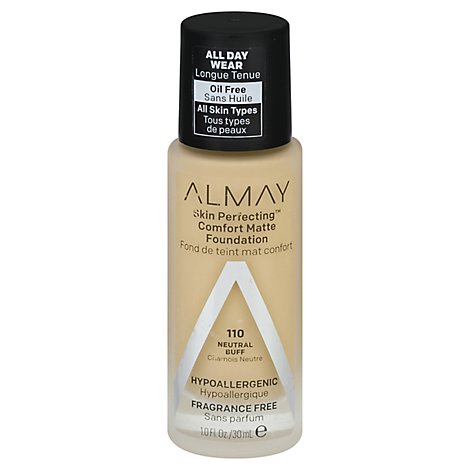 Almay Skin Perfecting Foundation Comfort Matte Neutral Buff - 10 Fl. Oz.
