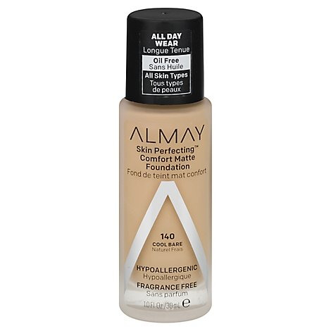Almay Skin Perfecting Foundation Comfort Matte Cool Bare - 10 Fl. Oz.