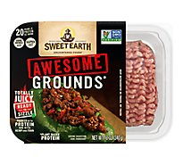 Sweet Earth Non Gmo Organic Pea Grounds Burger - 12 Oz