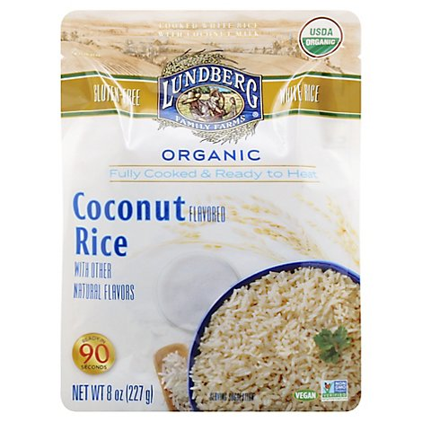 Lundberg Rice Coconut Org - 8 Oz