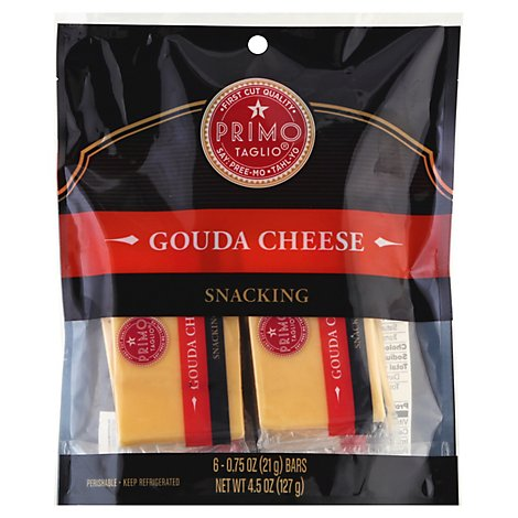 Primo Taglio Cheese Snacking Gouda - 6-.75 Oz