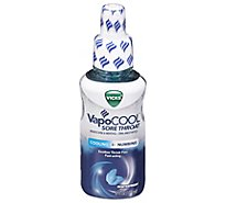 Vicks VapoCool Sore Throat Spray Cooling + Numbing Winterfrost - 6 Fl. Oz.