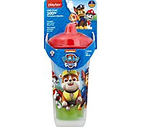 Playtex Cup Insulated Spill Proof Spout 12m+ 9 Ounce Paw Patrol Boy - Each