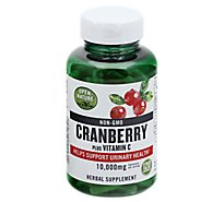 Open Nature Supplement Cranberry Vitamin C 10000 Mg - 120 Count