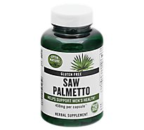 Open Nature Supplement Saw Palmetto 450 Mg - 250 Count